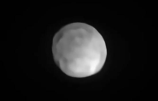 甚大望远镜拍摄到的健神星。