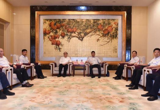 赵廷周与中煤科工集团副总经理刘建军会谈