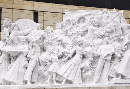 中国共产党历史展览馆中的矿业元素